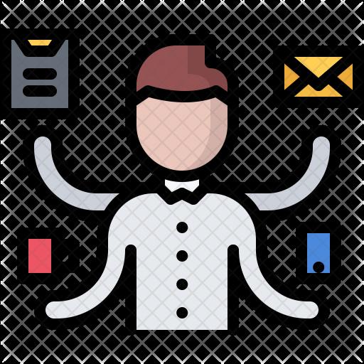 Job Vector Multitasking Transparent Png Clipart Free Download