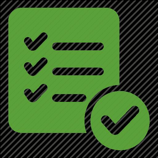 Checking, Checklist, Choice, Listindicate, Menu, Verification
