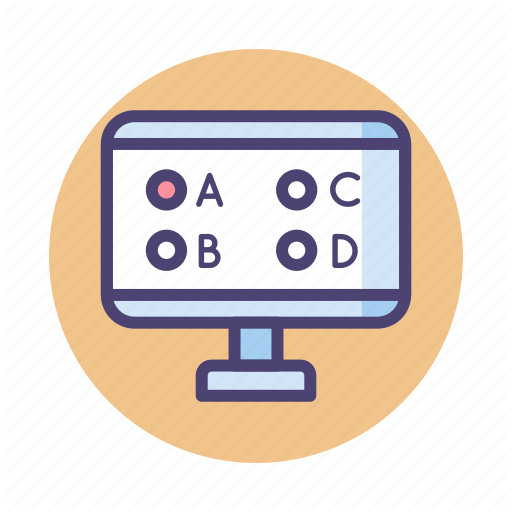 Multiple Choice Question, Objective, Online Test, Test Icon