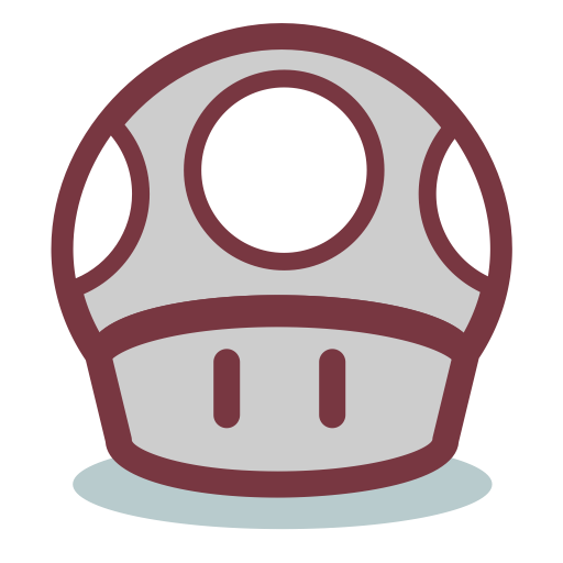 Mushroom From Mario, Mario, Mushroom Icon With Png And Vector