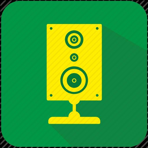 Acoustic, App, Music, Program, Sound, Speaker Icon