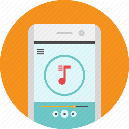 Android, App, Mobile, Music, Player, Song Icon