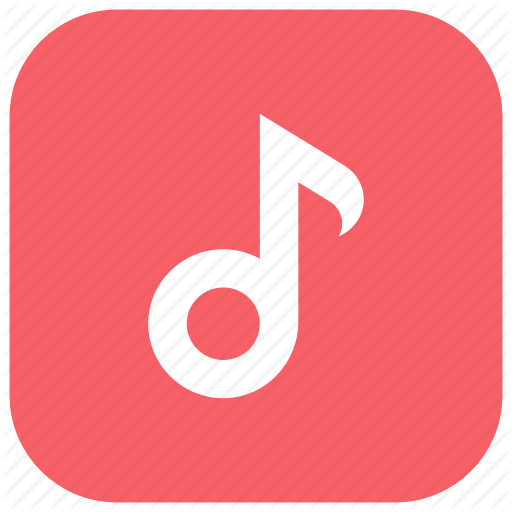App, Music, Player, Playlist, Songs, Store, Treble Clef Icon