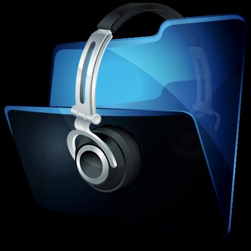 Folder Music Icon Hydropro Iconset Media Design