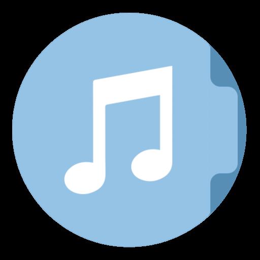 Folder Music Icon The Circle Iconset Xenatt