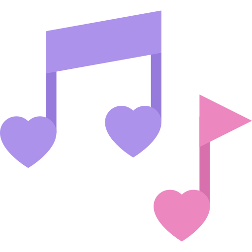 Romantic Music Musical Note Png Icon