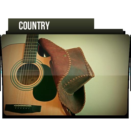 Country Icon Music Folder Iconset Limav