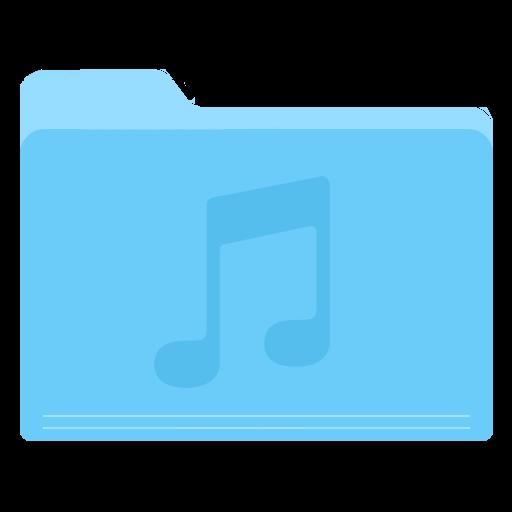 Folder Music Icon Yosemite Flat Iconset Dtafalonso