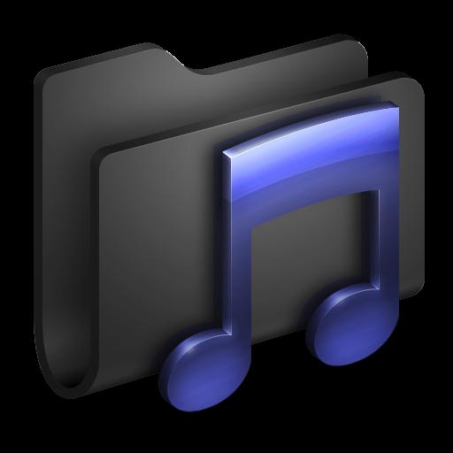 Music, Folder Icon Free Of Alumin Folders Icons