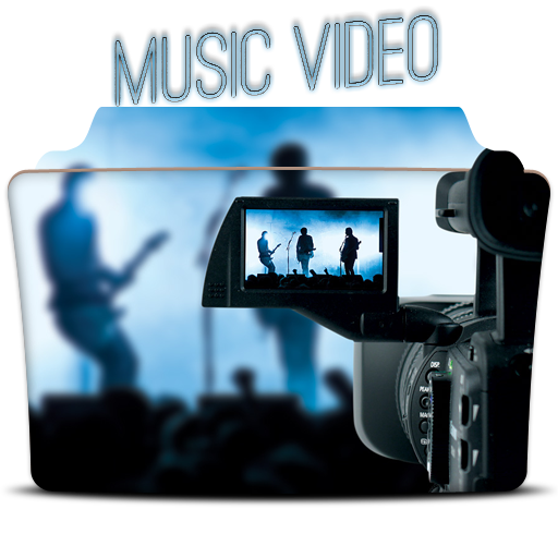 Music Video Folder Icon