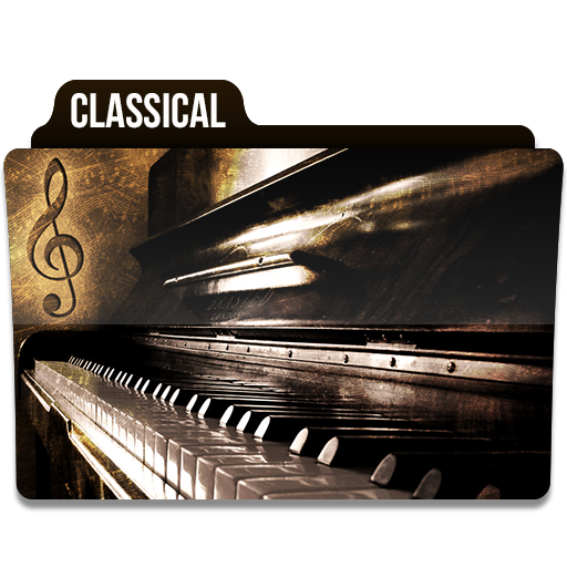 Classical, Music, Folder, Folders Icon Free Of Music Folder Icons