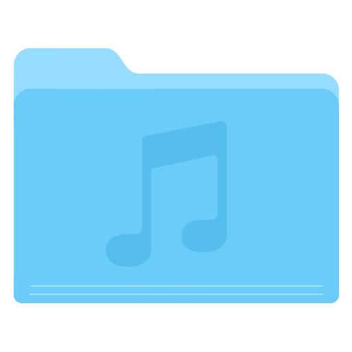 Folder, Music Icon Free Of Yosemite Flat Icons