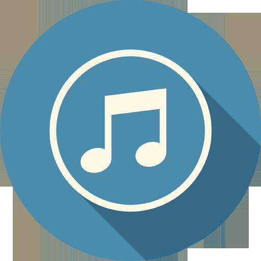 Sound Music Icon Long Shadow Media Iconset Pelfusion