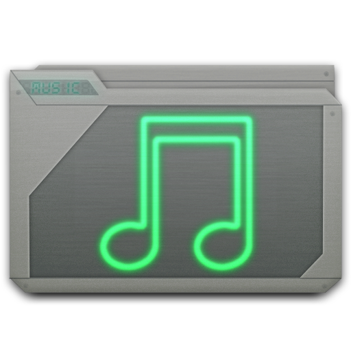 Folder Music Icon Free Search Download As Png