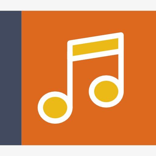 Cartoon Music Icon, Cartoon Clipart, Music Clipart, Music Png