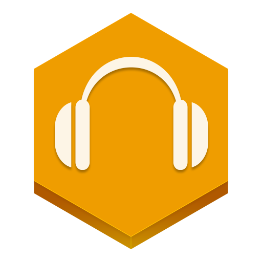 Google Play Music Icon Hex Iconset