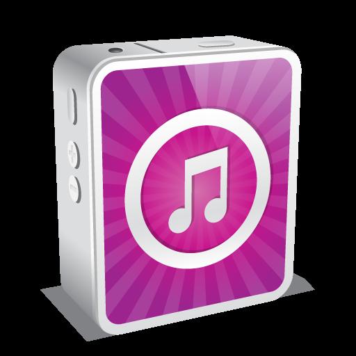 Iphone White Music Icon