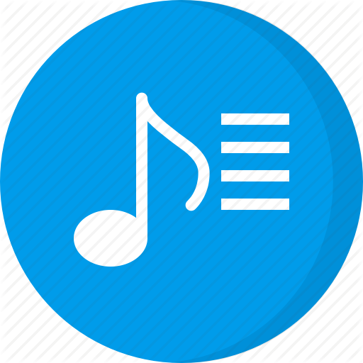 Multimedia, Music Playlist, Playlist, Song List, Songs Icon