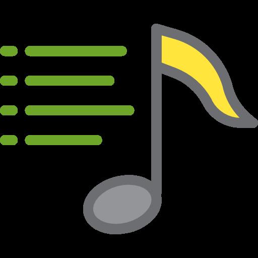 Playlist, Music Note, Quaver, Music And Multimedia, Multimedia