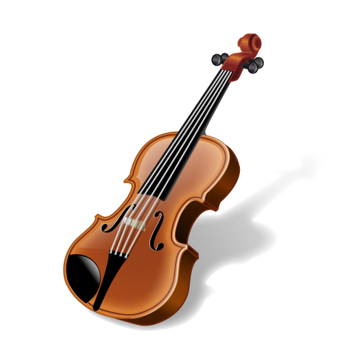 Violn Musical Instruments Iconset Icons Land