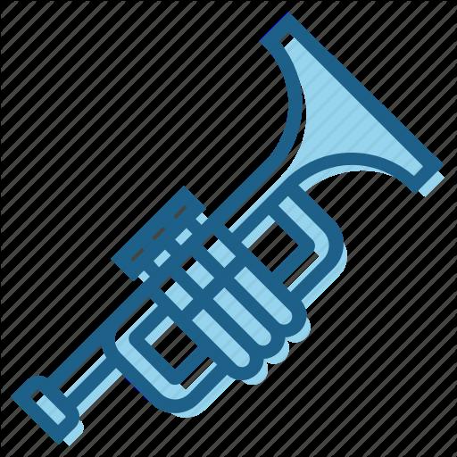 Blow, Brass, Instrument, Music, Musically, Trumpet Icon