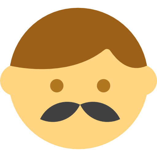 Moustache, Heads, Facial Hair, Interface, Hipster, Emoticons