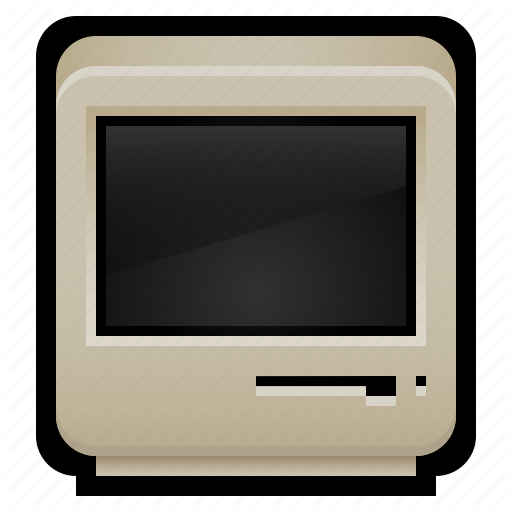 Computer, Crt, Mac, Macintosh, Old, Windows Icon