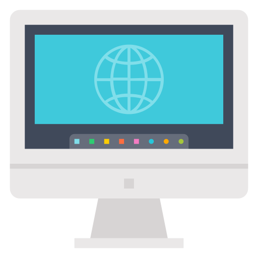 Internet, Monitor, Browser, Desktop, Computer Icon Free Of Internet