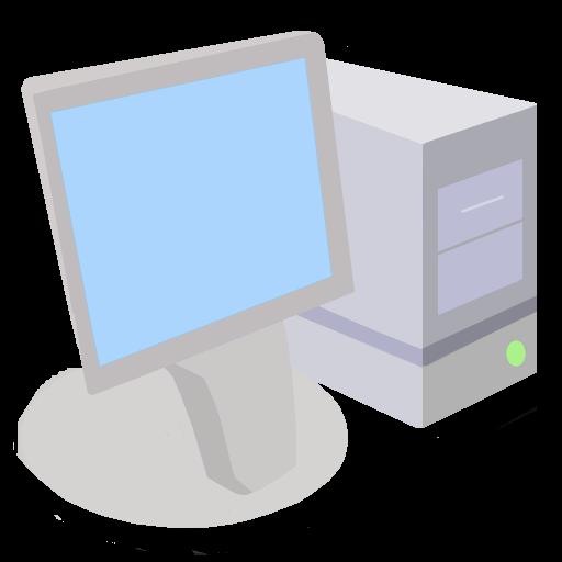 Modernxp Workstation Computer Icon Modern Xp Iconset Dtafalonso