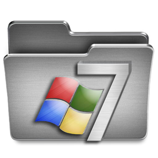 Windows Icon Steel System Iconset