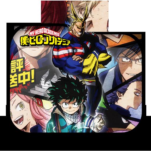 Boku No Hero Academia Season Folder Icon