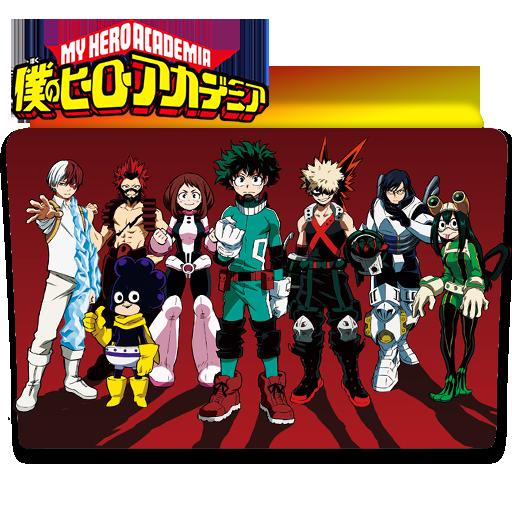 Boku No Hero Academia Folder Icon