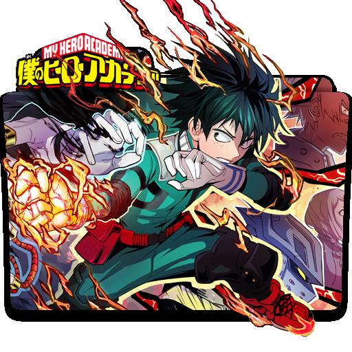 Boku No Hero Academia Icon Folder