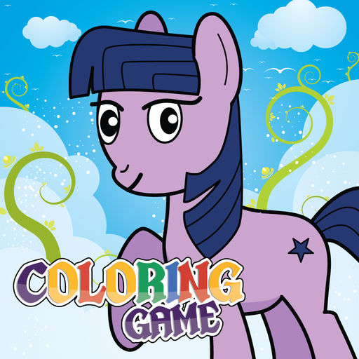 Coloring Book For My Little Paint Pony