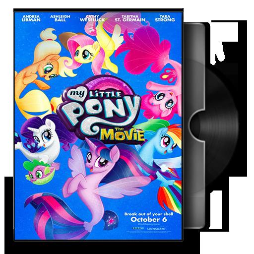My Little Pony The Movie Folder Icon