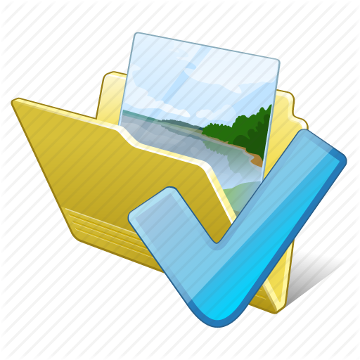 Folder, Gallery, Images, Media, My, Ok, Pictures Icon
