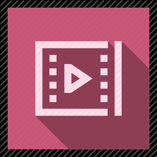Cinema, Edit, File, Movie, Play, Player, Video Icon