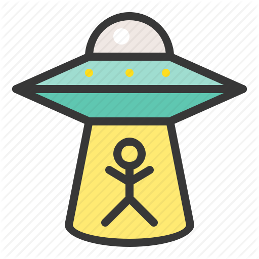 Alien, Exploration, Mystery, Space, Ufo Icon