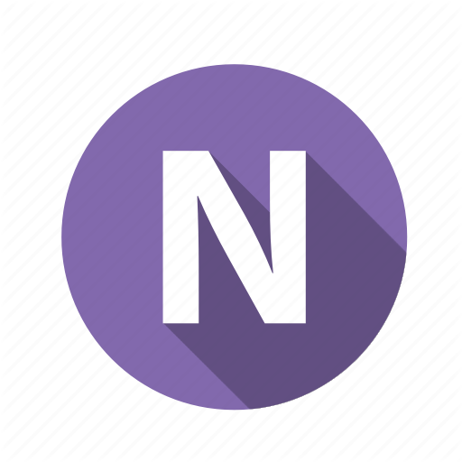 Abc, Alphabet, Font, Graphic, Letter, N, Text Icon