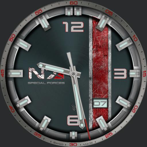 Mass Effect Special Forces Watchfaces For Smart Watches