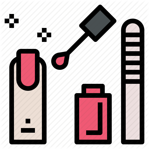 Beauty, Hand, Manicure, Nail, Polish, Salon Icon