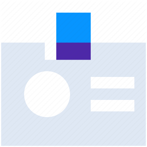 Badge, Card, Document, Id, Identity, Name, Tag Icon