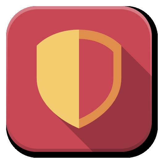 Apps Security Medium Icon Flatwoken Iconset Alecive