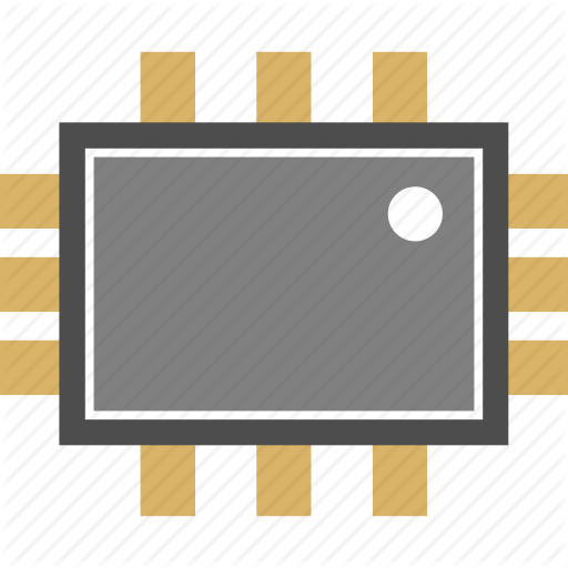 Chip, Microchip, Nano Icon