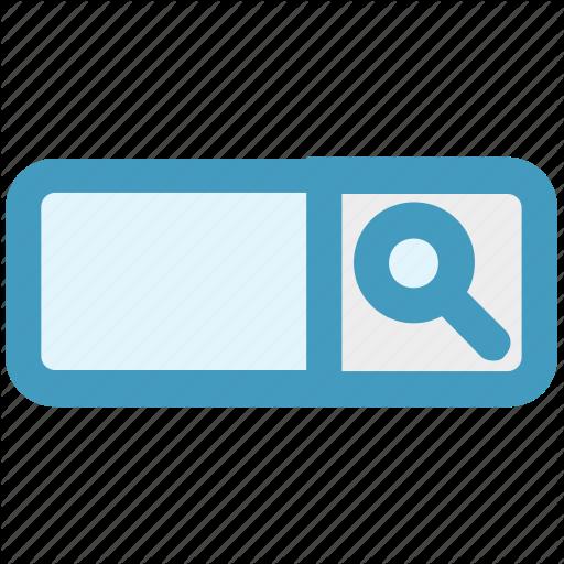 Data, Digital, Google Search, Magnifier, Nano Icon