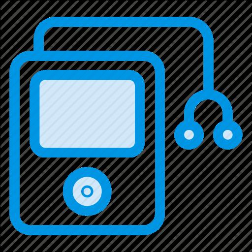 Headphones, Ipod, Multimedia, Music, Nano, Player Icon