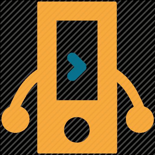 Iphone, Ipod, Music Player, Nano Icon