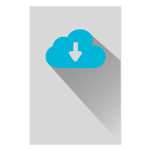 Cloud Storage Square Icon