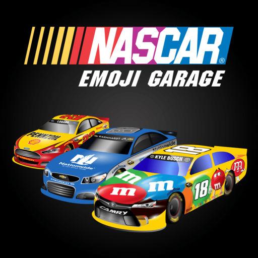 Nascar Emoji Garage