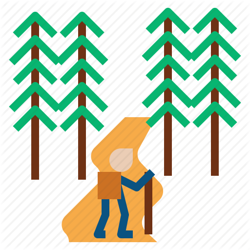 Forest, Nationalpark Icon